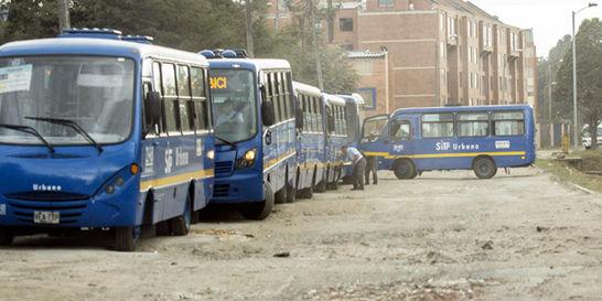 No hay patios para más de 9.000 buses del SITP