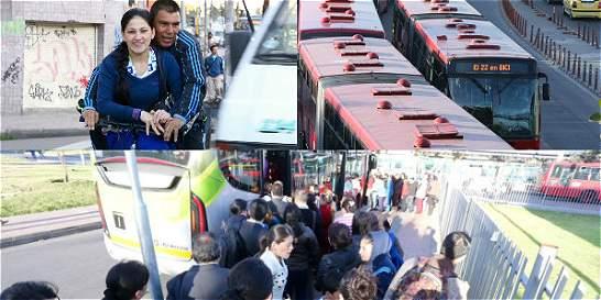 En día sin carro en Bogotá: 184 comparendos y más uso del Sitp