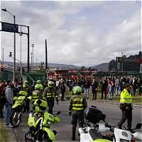 Daños por $ 14 millones dejó bloqueo y ataque a TransMilenio en Usme