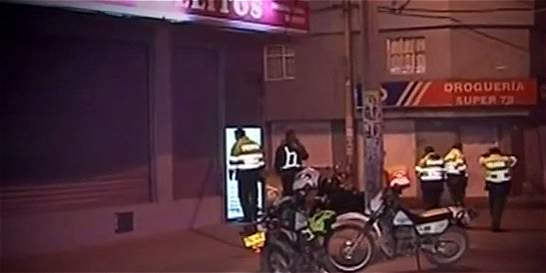 Delincuentes se enfrentaron a tiros con la Policía en Ciudad Bolívar
