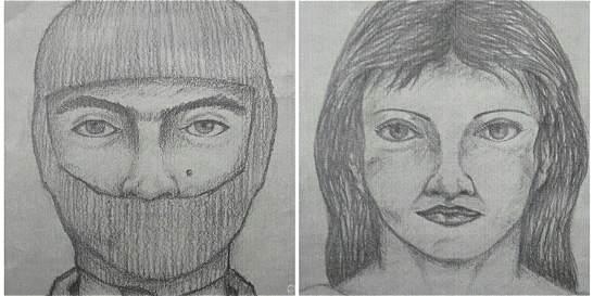 Publican retratos hablados de los presuntos asesinos de La Calera