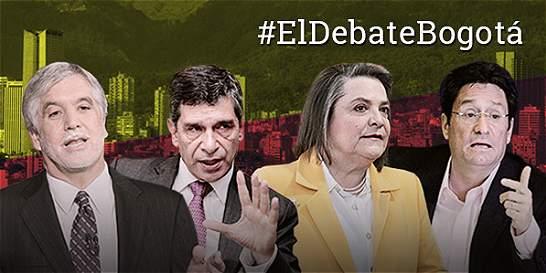 Así fue el gran debate con los candidatos a la Alcaldía de Bogotá