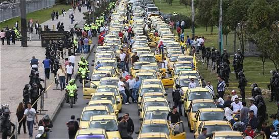 ¿Está de acuerdo con la circulación de 5.000 taxis más en Bogotá?