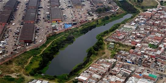 Así se ve el suroccidente de Bogotá desde el cielo