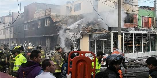 Fallas mecánicas y humanas causaron accidente de aeronave en Bogotá