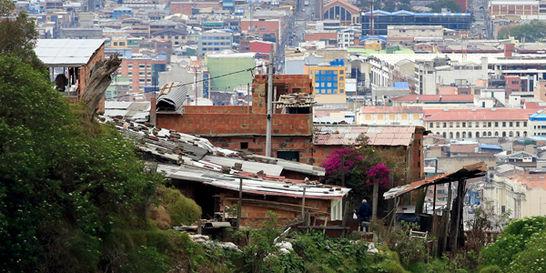 La pobreza golpeó las localidades de Santa Fe y Chapinero