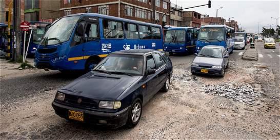 Los males que padece la avenida carrera 68, en Bogotá