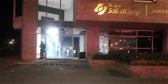 Habrían usado pentolita en explosión en antigua sede de Saludcoop