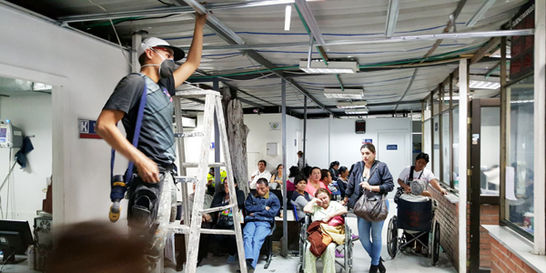 Hospital El Tintal estará listo el fin de año: Distrito
