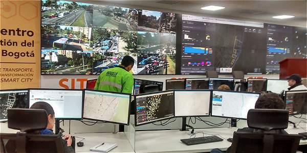 Entra en funcionamiento el Centro de Gestión del Tráfico de Bogotá