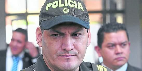 Hoover Penilla asume cargo de nuevo comandante de la Policía de Bogotá