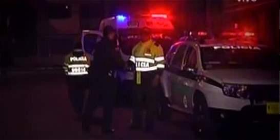 Policía fue agredido por un habitante de calle