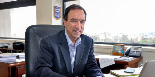 Secretario de Planeación de Bogotá, Andrés Ortiz Gómez.