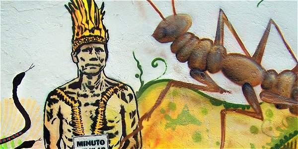 Grafitis en Bogot  Archivo Digital de Noticias de Colombia y el