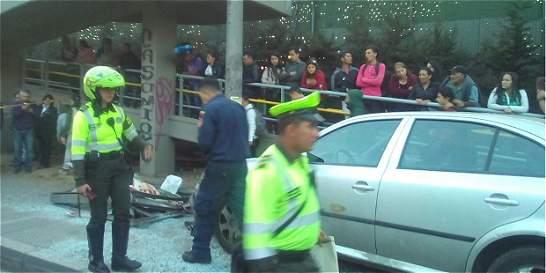 Ocho personas fueron atropelladas en la calle 194 con Autonorte
