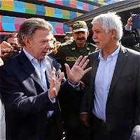 Distrito explica al presidente Santos su plan de choque en seguridad