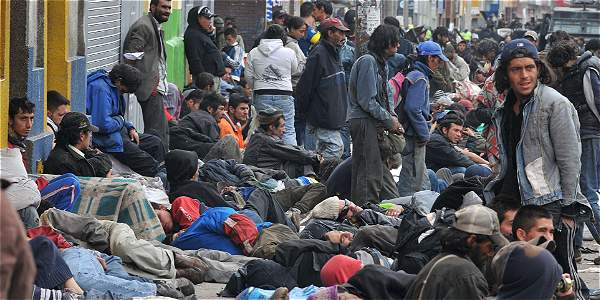 En los últimos nueve años se duplicó la indigencia en Bogotá