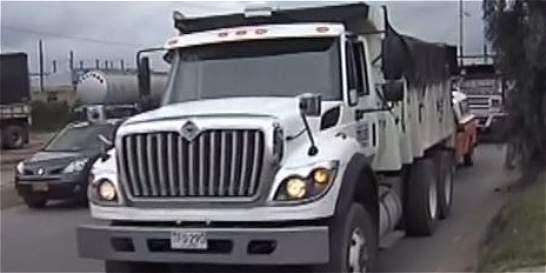 Capturan a alias Toretto por robar una volqueta en Bogotá