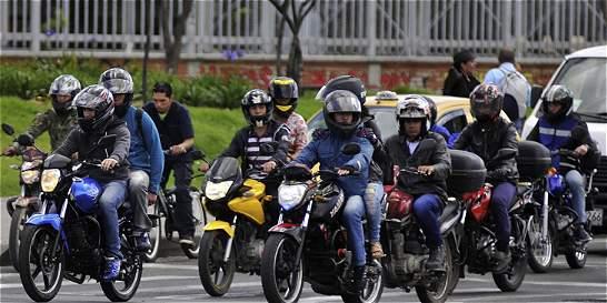 Los motociclistas fueron los más multados en 2015 en Bogotá