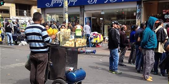 Comienza la lucha por recuperar el espacio público en Bogotá