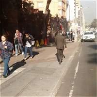 Operativo de control en la calle 72 avanza sin presencia de ambulantes