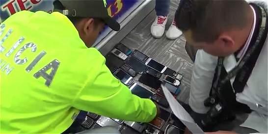 Sepa si su celular es uno de los 7.000 recuperados por la Policía