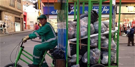 Aumenta la cantidad de basura que se arroja en el centro de Bogotá