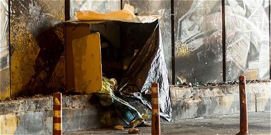 Habrá más operativos para limpiar cambuches en Bogotá