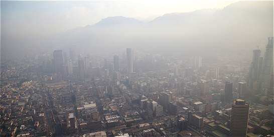 'Calidad del aire de Bogotá tuvo niveles similares a los de Pekín'