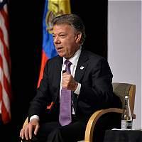 La agenda de Santos en su segundo día de visita a Washington