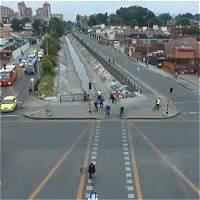 Así se mueve Bogotá en el día sin carro