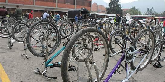 Policía invita a reclamar 210 ciclas robadas que fueron recuperadas