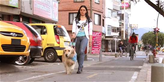 ¿Bogotá incluyente?: la ciudad que enfrentan quienes no pueden ver