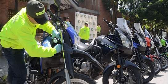 Capturan a nueve personas por robo de motos en Bogotá