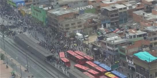 Los detenidos hoy en TransMilenio no serían judicializados