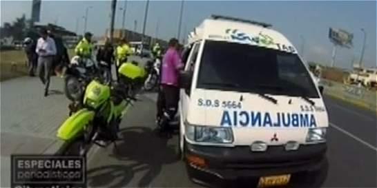 Cada hora y 50 minutos hay un accidente en moto en Bogotá