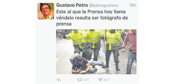 Polémica en redes por foto publicada por Gustavo Petro