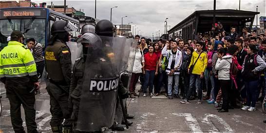 Mayoría de detenidos por protestas en TransMilenio quedaron libres