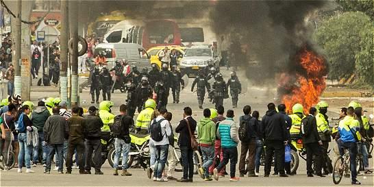 Detenidos en Soacha por protestas en TransMilenio quedaron libres