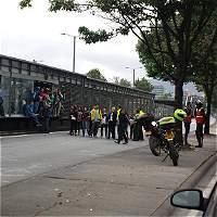 Bajo control bloqueos en troncal 80 de TransMilenio