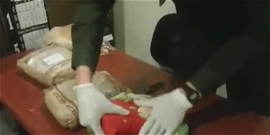Capturan a chino con 8 kilos de cocaína en El Dorado