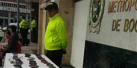 'Entregatón' de celulares recuperados en Bogotá