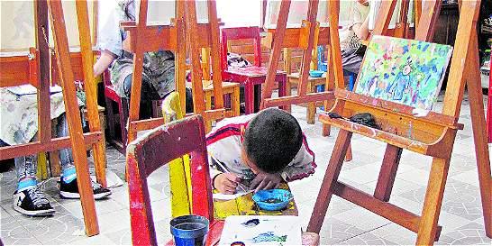 Niños del barrio Diana Turbay transformaron la violencia en arte