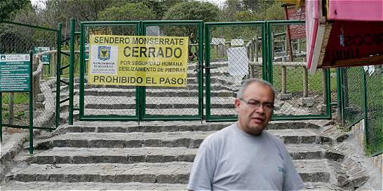 Los males que están cerrando el sendero de Monserrate