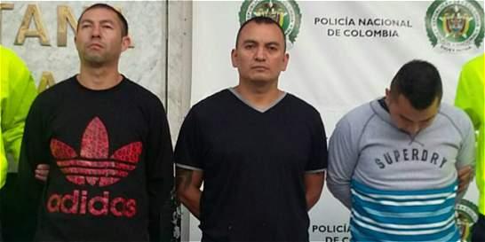 Capturan a una banda que asaltó más de 17 bancos en el país