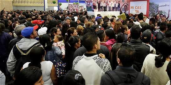 A la feria de vivienda en Corferias asistieron 10.000 personas