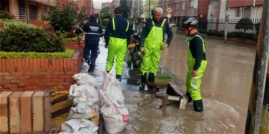 Inundaciones y empozamientos afectan varios puntos de Bogotá