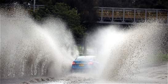 En Chapinero, Santa Fe y San Cristóbal es donde más ha llovido