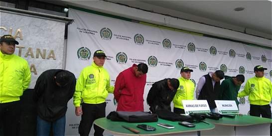 Desmantelan una banda de apartamenteros en Bogotá