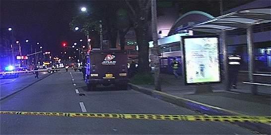 Dos muertos y un herido en intento de robo a carro de valores